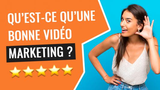 bonne video marketing